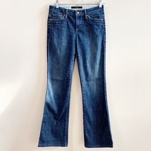 JOE'S JEANS Muse Bootcut Mid-Rise Blue Jeans 25
